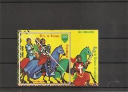 Guinée équatoriale -Les Cavaliers Du Moyen-age ( BF 294 XXX -MNH) - Guinea Equatoriale