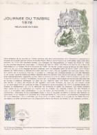 = Document Philatélique 1er Jour Paris 08.04.78 N°2004 Journée Du Timbre 1978 Facteur Parisien De 1900 - Documentos Del Correo