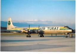 AVION AER TURAS IRELAND - Canadair CL44J - 1946-....: Moderne