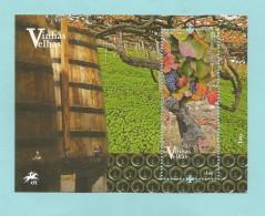 Portugal 2016 , Vinas - Vino - Wein - Sheet - Postfrisch / MNH / (**) - Unused Stamps