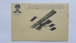 BIPLAN H.FARMAN Pilote Par Wynmalen  Aviation Militaire CPA Animee Postcard - Altri