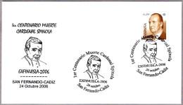 Matasellos 100 Años MUERTE CARDENAL SPINOLA. San Fernando-Cadiz, Andalucia, 2006 - Celebridades