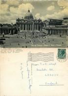 San Pietro, Roma, Italy Postcard Posted 1956 Stamp - San Pietro