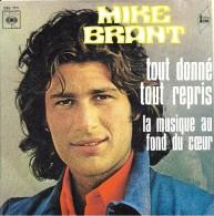 """Mike Brant  """"  Tout Donné Tout Repris  """" - Unclassified"""