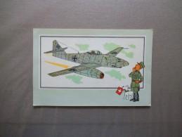 VOIR ET SAVOIR PAR HERGE AVIATION N°41 MESSERSCHMITT Me-262- ALLEMAGNE-1942 - Vieux Papiers