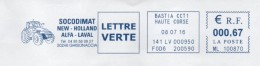 EMA Haute Corse Ghisonaccia Tracteur New Holland Alfa Laval. Thème Agriculture - EMA (Printer Machine)