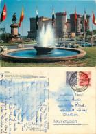Piazza Municipio, Napoli, NA Napoli, Italy Postcard Posted 1965 Stamp - Napoli
