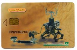 MOZANBIQUE REF MV CARDS MZB-13 TDMAM OLD TELEPHONE 3 - Mozambique