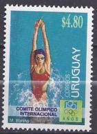1483** SPORT - 100 COMMISION INTERNATIONAL OLYMPIQUE - Uruguay