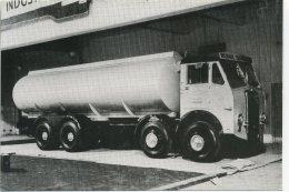 ROAD TRANSPORT - COMMERCIAL MOTOR SHOW 1954 - ATKINSON BULWARK TANKER (Repro) Car10 - Trucks, Vans &  Lorries