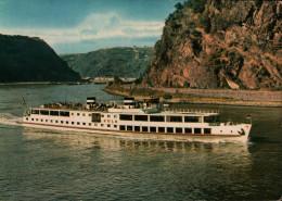MS Köln. Köln-Düsseldorfer Rheindampfschiffahrt - Barche