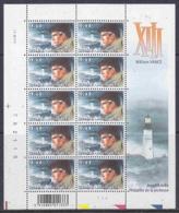 Belgie 2004 William Vance / Lighthouse 1w In Vel Van 10 ** Mnh (F3330) @ Face - Volledige Vellen