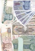 Lot 50 Billets Banknotes Amérique Du Sud South America (Argentina & Brazil, FDC, Uncirculated) - Banknotes