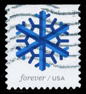 Etats-Unis / United States (Scott No.5032 - Flocon De Neige / Snow Flake) (o) P3 - United States