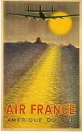 CPA-1998--AFFICHE-COPIE1954-AIR FRANCE-AMERIQUE DU SUD-Illustrateur-V Vasarely- TBE - 1919-1938: Entre Guerres