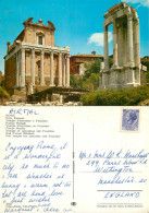 Foro Romano, Roma, Italy Postcard Posted 1960s Stamp - Roma