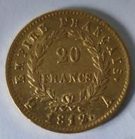 RARE :20 FRANCS OR EMPEREUR NAPOLÉON 1812 A - Oro