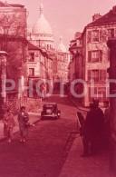 50s PARIS FRANCE ORIGINAL 35 Mm DIAPOSITIVE SLIDE No PHOTO FOTO LANCIA AURELIA CAR VOITURE 21B - Diapositives (slides)
