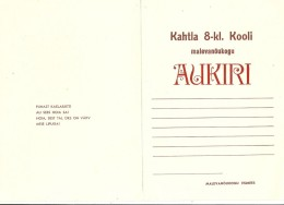 ESTLAND Estonia 1979 Diploma Form Schule School Pionierorganisation Unused - Diploma & School Reports