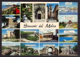 Souvenir Del Molise - Italie - Carte Multivues - Monuments - Unclassified