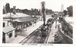 Le Vésinet - La Gare Du PECQ - TRAIN - Le Pecq