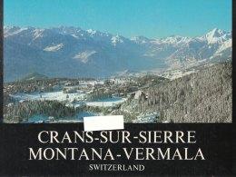 CRANS-SUR-SIERRE  MONTANA-VERMALA -SVIZZERA   (41010) - Esplorazioni/Viaggi