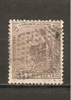 España/Spain-(usado) - Edifil  135 - Yvert  134 (o) - 1873 1ª República
