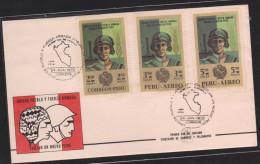 O) 1970 PERU, ARMED FORCES, PLATFORM - PETROLEUM-OIL, SOUVENIR MNH - Peru