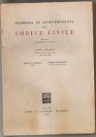 RASSEGNA DI GIURISPRUDENZA SUL CODICE CIVILE LIBRO IV ROSARIO NICOLO' - Diritto Ed Economia