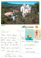 Church, Almansil, Algarve, Portugal Postcard Posted 2001 Stamp - Faro