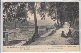 Fumay - Ardoisière St Anne Et Avenue Divers Monts - Fumay