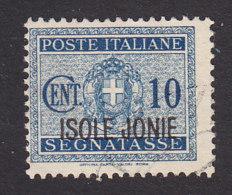 Italian Occupation Of Ionian Islands, Scott #NJ1, Used, Postage Due Overprinted, Issued 1941 - 9. WW II Occupation (Italian)