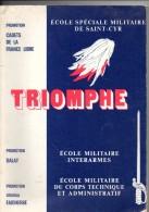 Triomphe, école Spéciale Militaire SAINT-CYR-COUETQUIDAN, Promotion DALAT, FAIDHERBE, De 1988, 150 Pages, - Libri