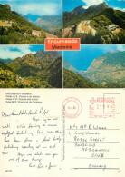 Encumeada, Madeira, Portugal Postcard Posted 1980 Meter - Madeira