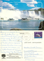 Niagara Falls, Ontario, Canada Postcard Posted 1991 Stamp - Niagarafälle