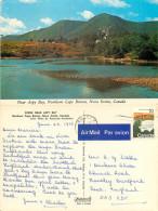 Aspy Bay, Northern Cape Breton, Nova Scotia, Canada Postcard Posted 1975 Stamp - Cape Breton