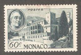 Monaco 1946,US Presidents,FDR Franklin D.Roosevelt,Sc 200,Mint Hinged* - Unused Stamps