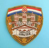 2. GUARD BRIGADE Mostar # 2 - BOSNIAN CROATS ARMY HVO In BOSNIA WAR 1992-95. Orig. Patch Bosnie Bosnien Kroatien Croatia - Patches