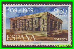 ESPAÑA  ( EUROPA )  SELLO  NUEVO    AÑO 1969 - 1961-70 Nuevos & Fijasellos