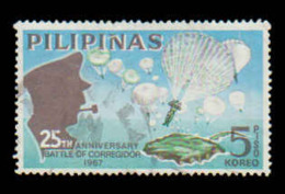 Philippines Scott # 972, 5p Multicolored (1967) 25th Anniversary Battle Of Corregidor, Used - Philippines