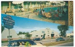 St. Louis Missori Route 66 Lodging, Park Plaza Motel, Auto, C1950s Vintage Postcard - Route '66'