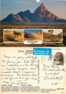 Spitzkoppe, Namibia Postcard Posted 2000 Stamp - Namibie