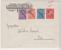 Serbia / Spoof Tax Stamps - Serbia