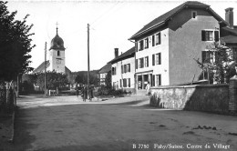 FAHY → Centre Du Village Mit Passanten Anno 1956 - JU Jura