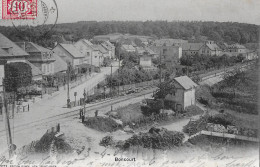 BONCOURT → Centre Du Village Avec Route Du Train 1905 - JU Jura