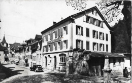 VALANGIN → Hôtel Du Château Avec Oldimer, Ca.1955 - NE Neuenburg