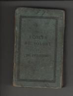 Livre  Ecoles Du Soldat Et Du Peloton 1842 Exercices Et Manoeuvres De L'infanterie - Livres