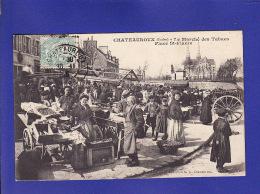CHATEAUROUX  Marché Des Tabacs  1916 (très Très Bon ETAT ) Ww111) - Chateauroux