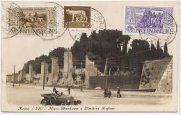 LBR29/3- ITALIE CPA ROMA / HAÏPONG 27/5/1932 - Marcophilia