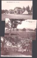 Camp De BOURG LASTIC - Lot De 3 Cartes - France